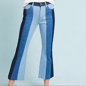 7 For All Mankind Ali High-Rise Cropped Flare Jean